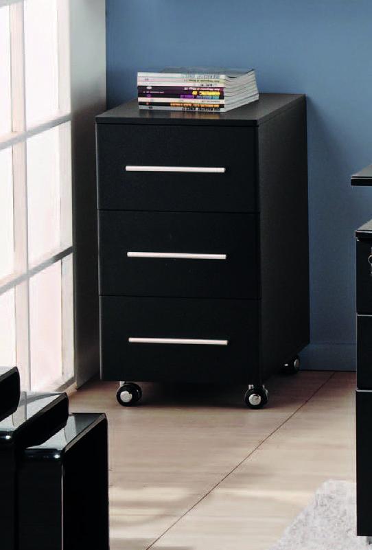 Organ zate con estilo muebles2014 negro cajonera - Cajoneras de oficina ...