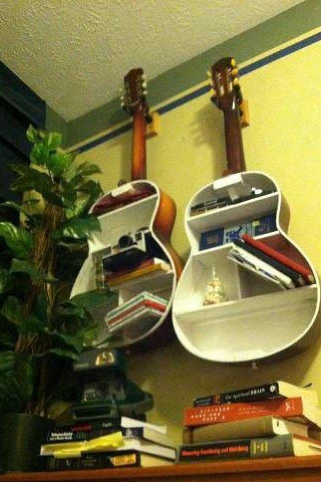 Creative Guitar shelving