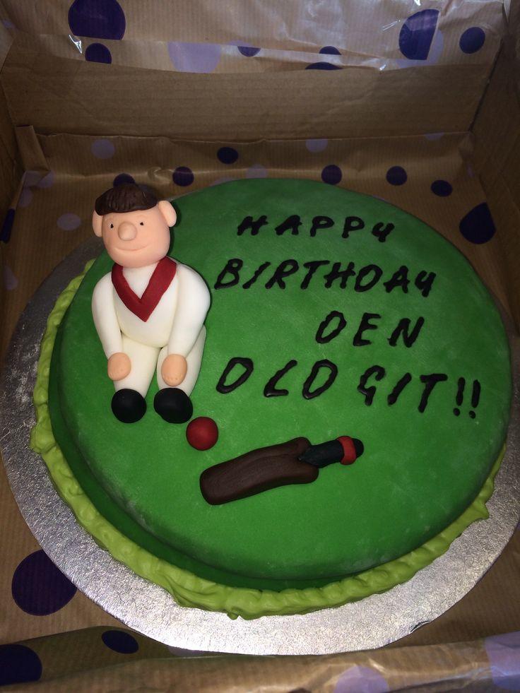 Cricketer sponge cake
