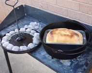 Camp Oven Cooking in Australia - General Information and Recipes