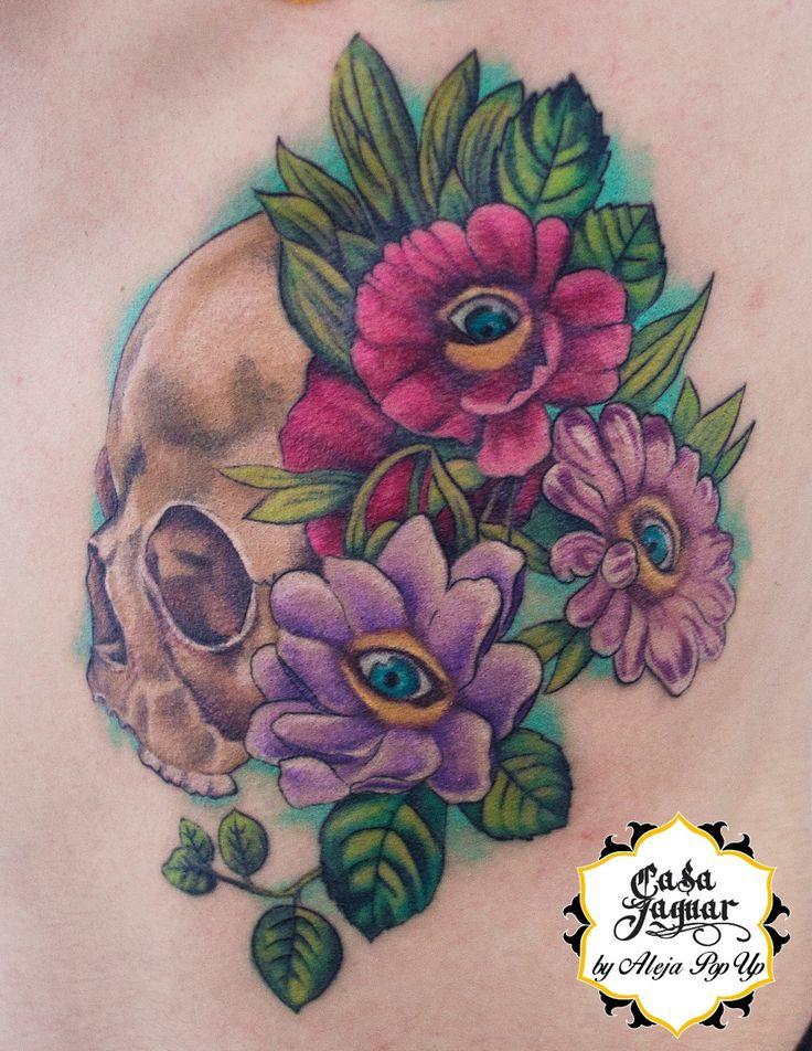 @tattoo color @skulltattoocolor