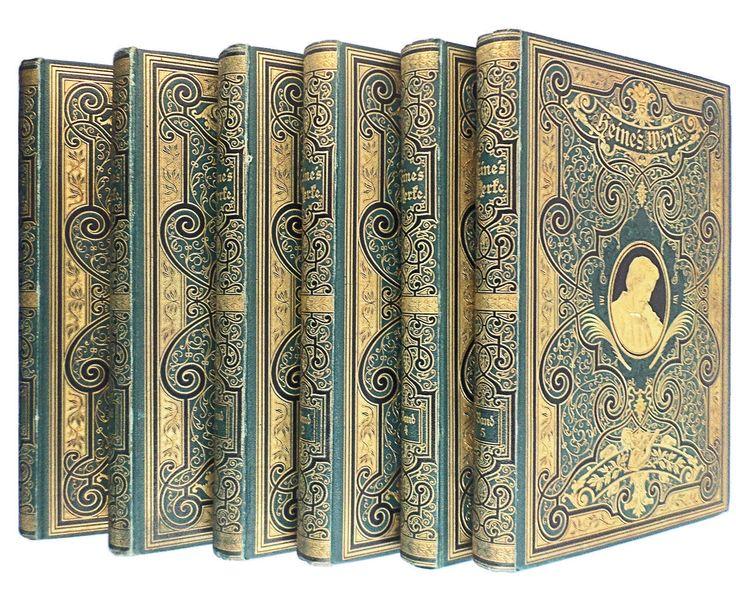 Heinrich Heine - Werke in 6 Bänden, Prachtausgabe in Antiquitäten & Kunst, Antiquarische Bücher | eBay!