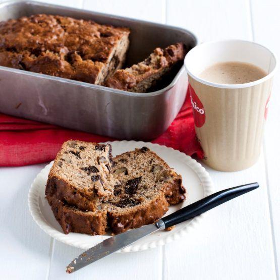 Prune, Walnut and Banana Breakfast Loaf by Nadia Lim | NadiaLim.com