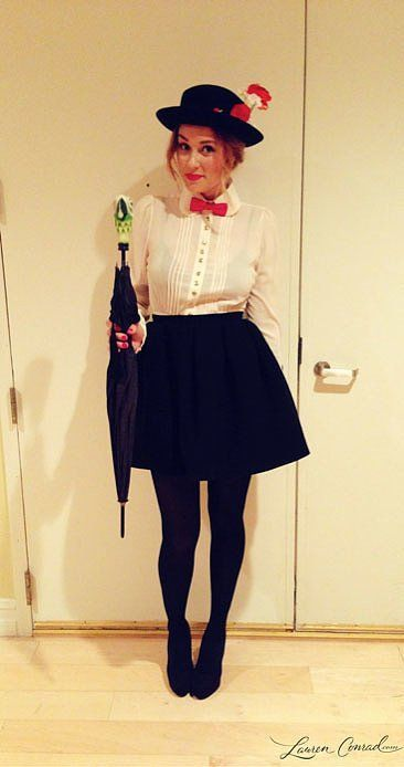Pin for Later: 21 Creative Disney Costumes For a Magical Halloween Lauren Conrad as Mary Poppins