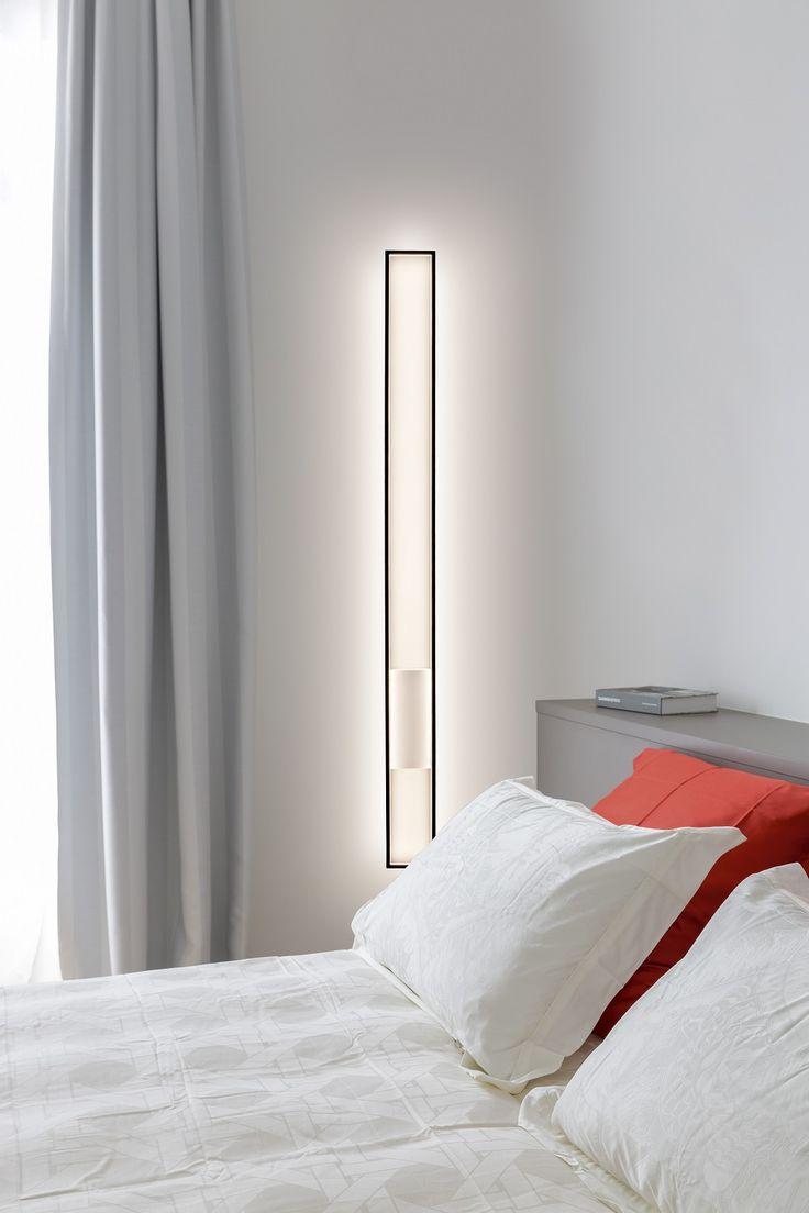 Light you life... Miré LT Led wall light by Cinier.