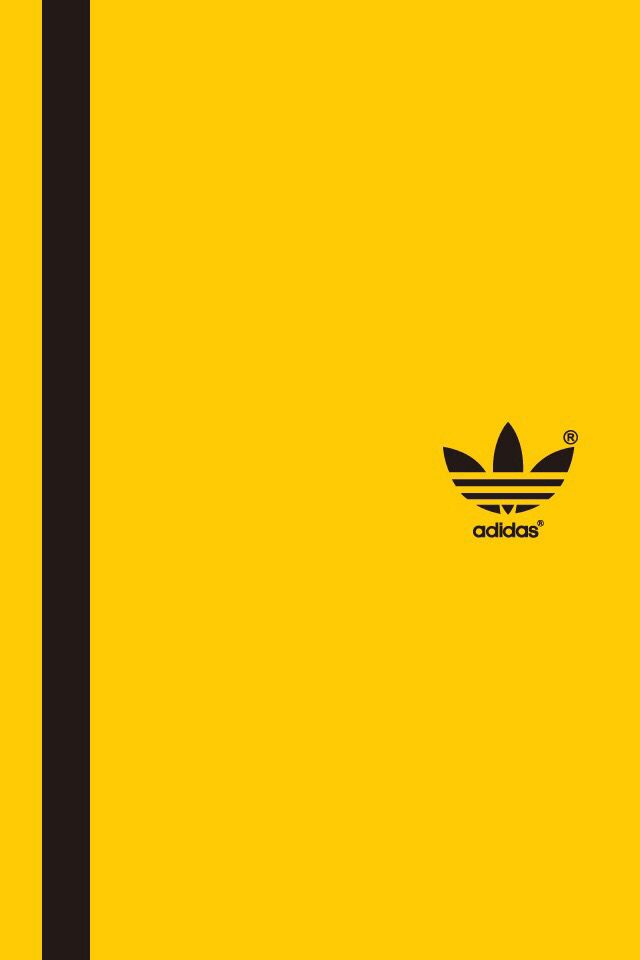yellow adidas logo - photo #23