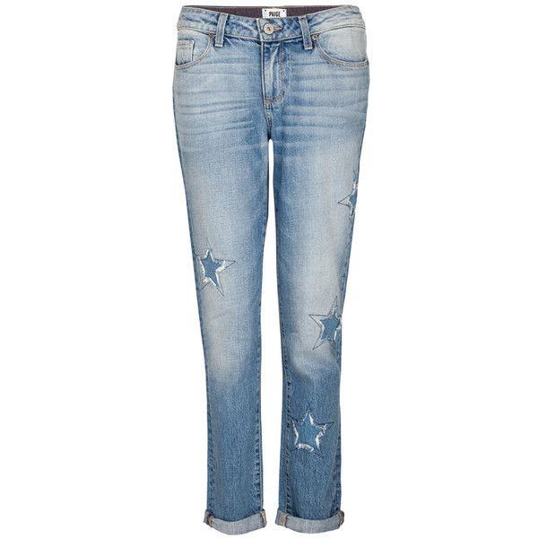 Paige Jimmy Jimmy Boyfriend Skinny Jeans - Athena Indigo Patch (2.060 RON) ❤ liked on Polyvore featuring jeans, athena indigo patch, skinny boyfriend jeans, blue jeans, destroyed boyfriend jeans, ripped boyfriend jeans and destroyed skinny jeans
