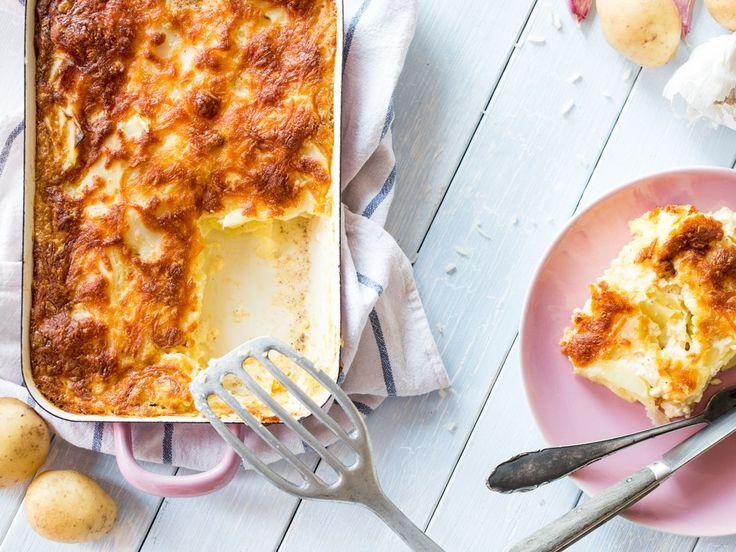 So wird dein Kartoffelgratin sahnig, knusprig, lecker!