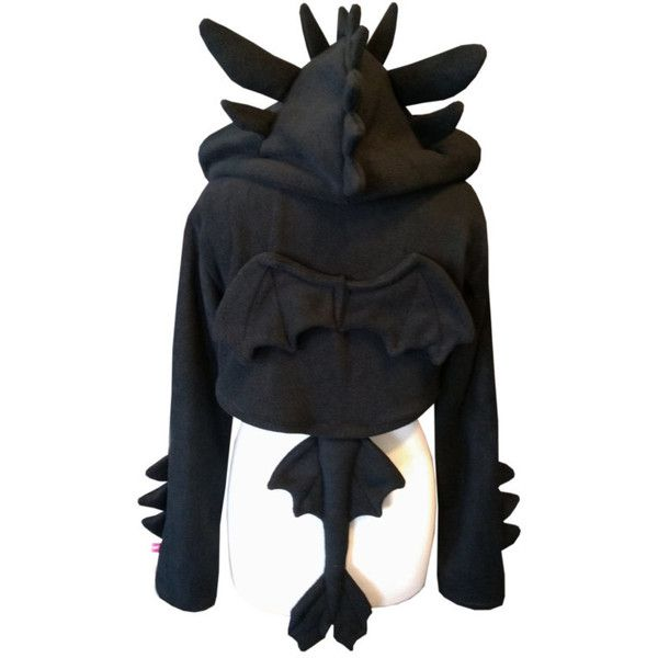 Cute Toothless Inspired Hooded Shrug Anime Cosplay Kawaii Dragon... ($74) ❤ liked on Polyvore featuring jackets, shirts, sweaters, grey, hoodies, sweatshirts, women's clothing, grey shrug, hooded shrug et gray shrug