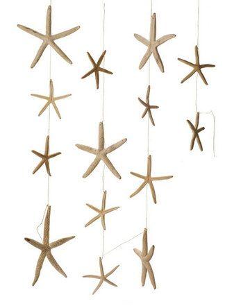 Starfish Garland, White Starfish, Beach Wedding, Coastal Wedding, Wedding Decor, Hocor, Wholesale, Starfish De by SeaLaneStudio on Etsy https://www.etsy.com/listing/108969604/starfish-garland-white-starfish-beach