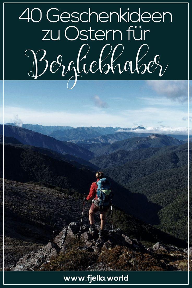 40 Geschenkideen für Bergliebhaber und Wanderer. Von Lektüre über schöne Dinge bis Ausrüstung ist alles dabei für Frau und Mann, lasst euch inspirieren! #ostern#ostergeschenk#easterbunny#berge#geschenkideeOstern, Geschenkidee, Geschenke, Ostergeschenke, Berge, Bergfreunde, Bergliebhaber, Wanderer