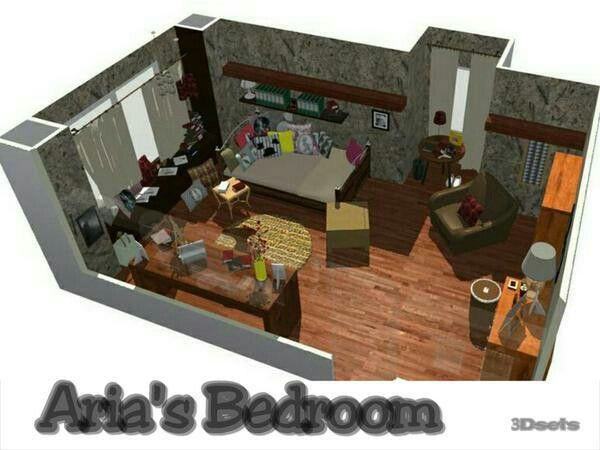 Aria Montgomery room pll More