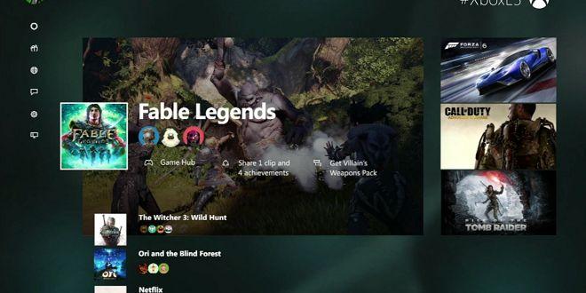 E3 2015 - Xbox One new dashboard - http://techraptor.net/content/e3-2015-xbox-one-new-dashboard | Gaming, News