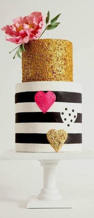 Could be really cute for a glitter themed or even Kate spade themed party.