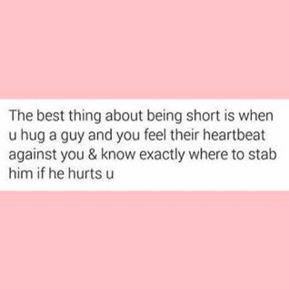 Benefits of dating a short guy