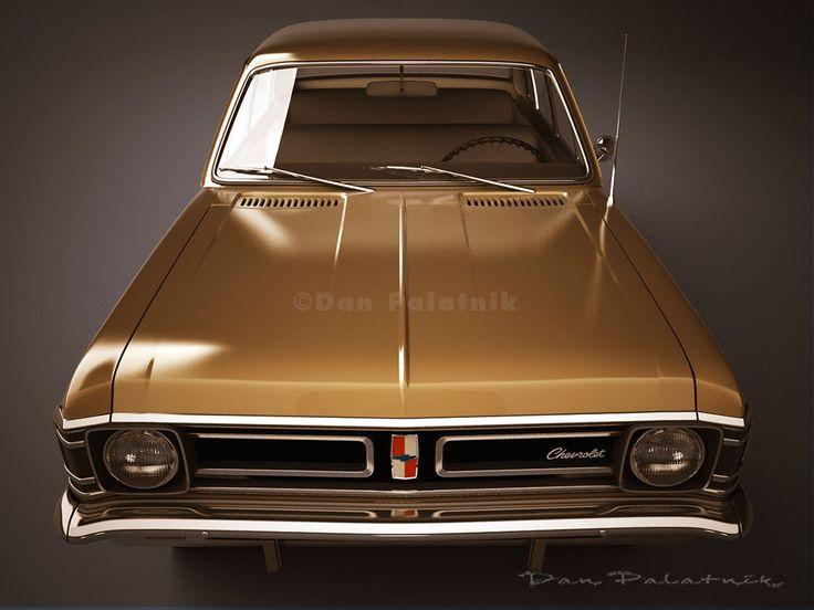 A Garagem Digital de Dan Palatnik | The Digital Garage Project: 1971 Chevrolet Opala
