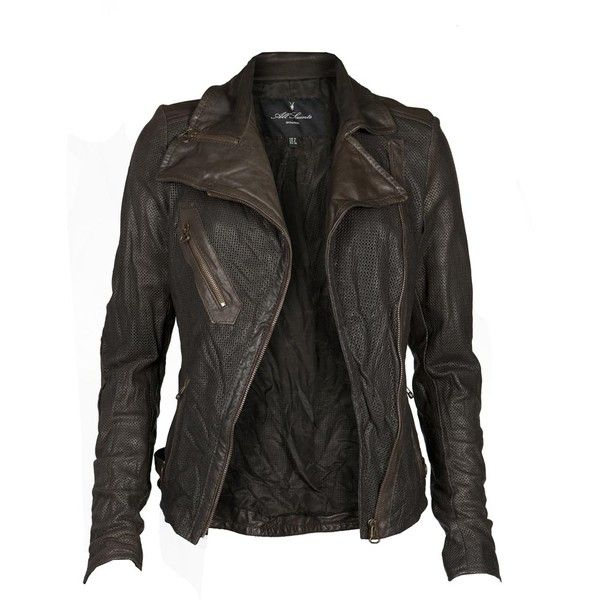 All Saints Womens Meyer Jacket ❤ liked on Polyvore featuring outerwear, jackets, tops, coats, leather jackets, leather jacket, genuine leather jacket, allsaints, 100 leather jacket and real leather jacket