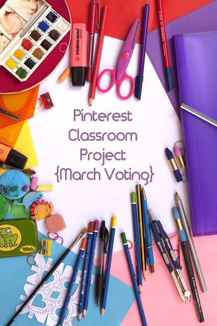 Pinterest Classroom Project {March Voting} - Living in Wonderland
