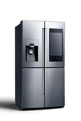 Await Smart Refrigerator Samsung at CES 2016 #Samsung Technology