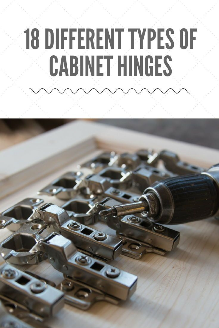 18 Different Types Of Cabinet Hinges Types Of Cabinets Cabinet Hinges Cabinet