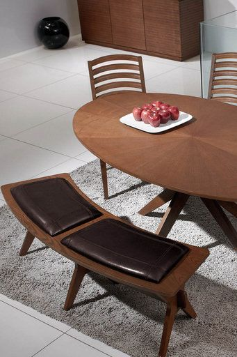 Oval dining table and matching bench! ........................................................ Please save this pin... ........................................................... Because For Real Estate Investing... Visit Now! http://www.OwnItLand.com