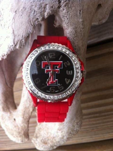 Texas Tech Watch $22.00Things Texas, Tech Watches, Watches 22 00, Texas Tech