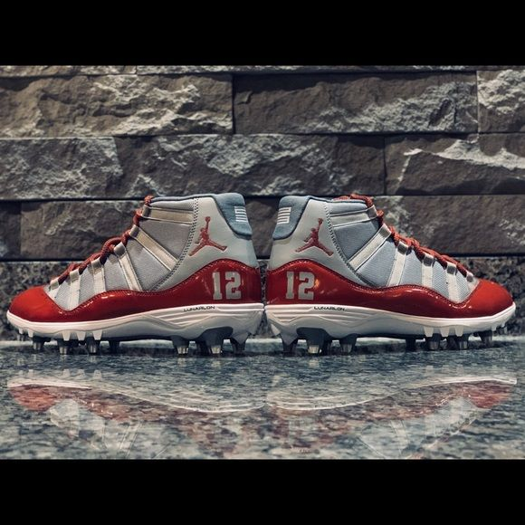 Custom Jordan 11 Football Cleats Custom Football Cleats Football Cleats Mens Football Cleats