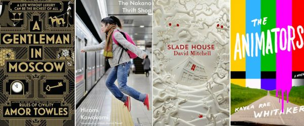 A Gentleman In Moscow, The Nakano Thrift Shop, Slade House, The Animators