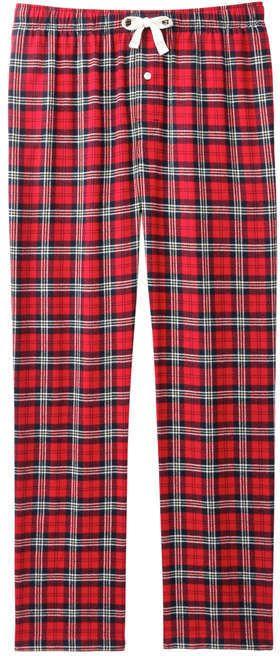 Joe Fresh Men's Drawstring Waist Sleep Pant, Carmine Red (Size S)