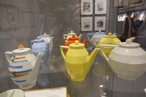 vintage tea pots - La Triennale di Milano Museum