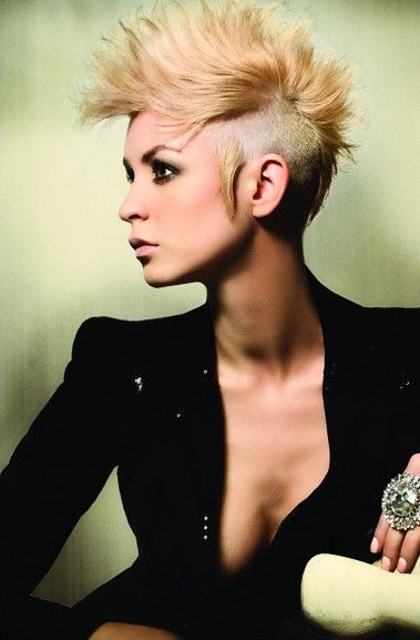 Mohawk with sideburns.   Mohawks   Pinterest   Sideburns and Mohawks