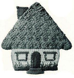 Honeymoon Cottage Potholder | free Crochet Patterns