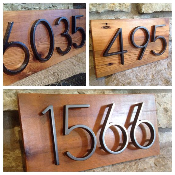 17 Best Images About House Numbers And Mailboxes For