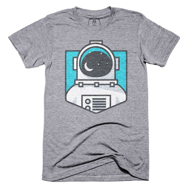 """The Astronaut"" designed by Aaron Davis. The astronaut is my spirit animal."