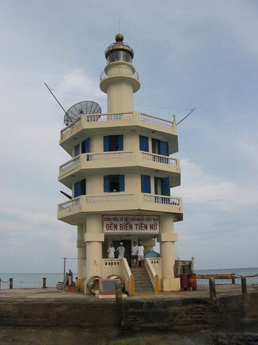 Tiên Nữ  lighthouse [2000 - Pigeon Reef, Spratly Islands, Vietnam]