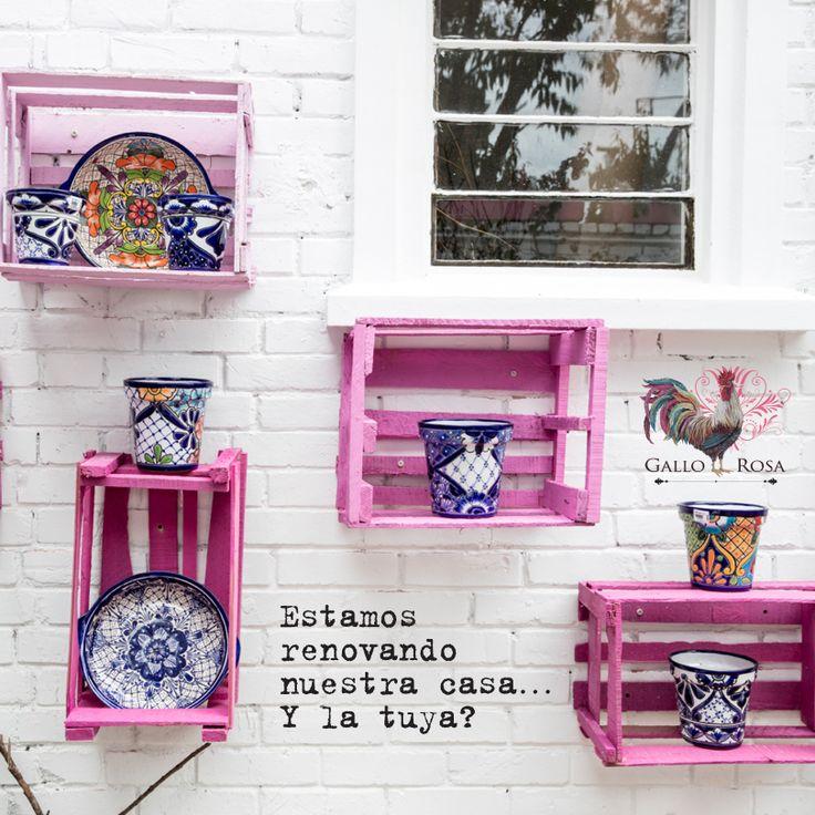 ¡Te esperamos en nuestra casa! #GalloRosa #HechoConElCorazon #HechoAMano #Artesanos #Diseño #Pasión #Cultura
