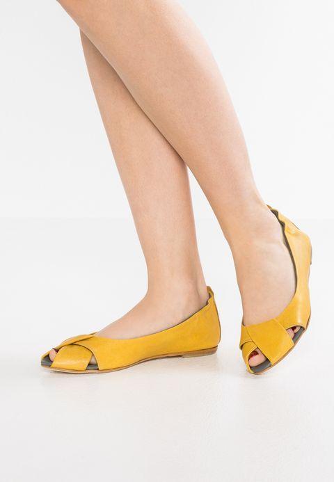 3de913352cf3b lilimill ATENA - Peeptoe ballerina's - rock sole - Zalando.be ...