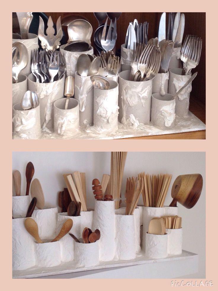 M s de 25 ideas fant sticas sobre organizador de for Utensilios decoracion cocina