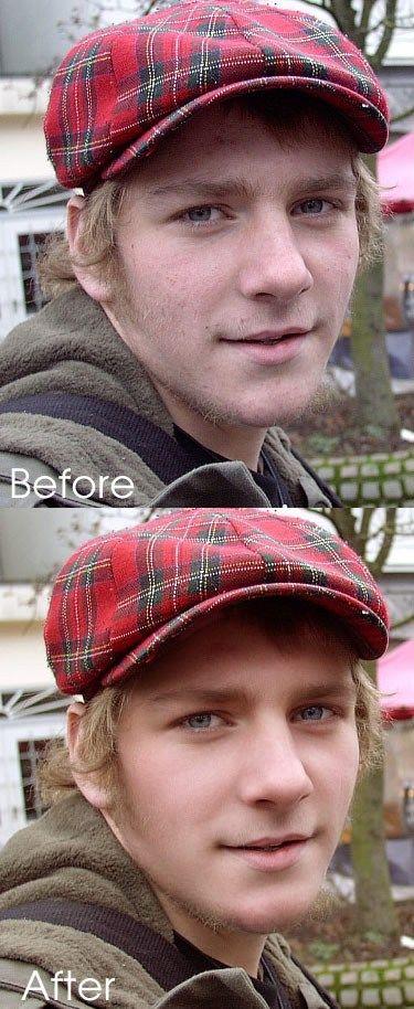 Photoshop Touch-Up Tutorials