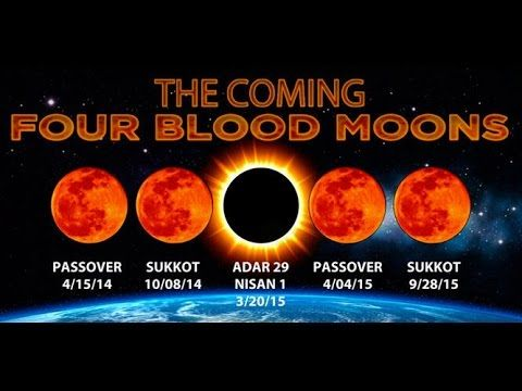 """The """"Four Blood Moons"""" by Pastor Larry Huch at Grace Walk Church 4-6-14 ..."""