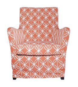 Living Area | Living Edge AB Club Clio chair - Avanti Terracotta