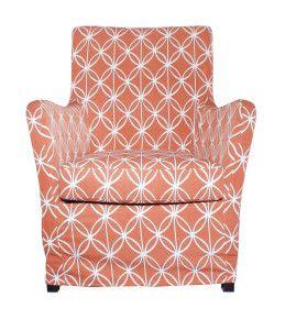 Living Area | Living Edge AB Club Clio chair - Avanti Terracotta