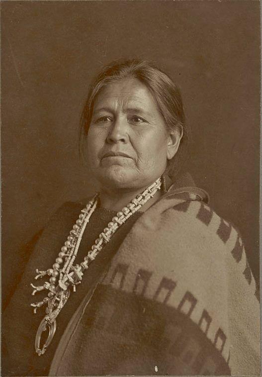 Ellie Ganado - Navajo - 1906                                                                                                                                                      More