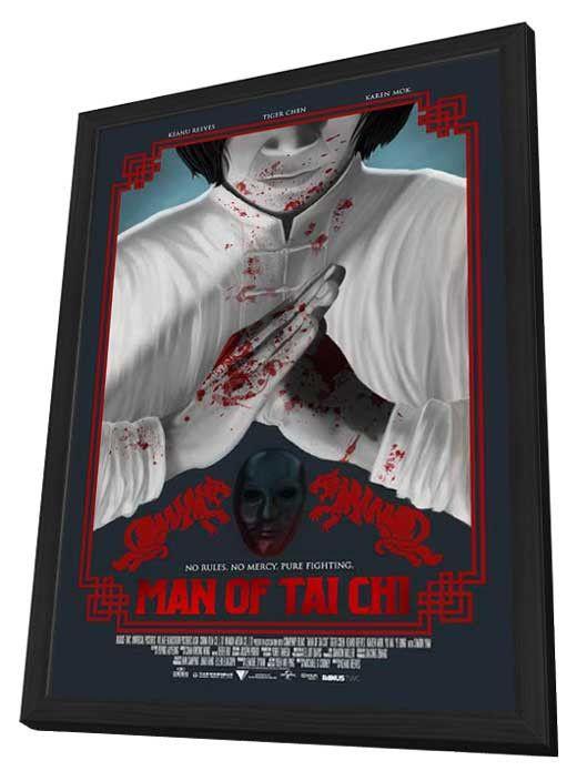 Man of Tai Chi 11x17 Framed Movie Poster (2013)