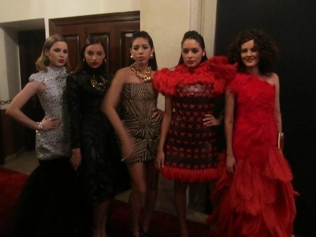 Mexico's Next Top Model y El Reforma. Backstage.