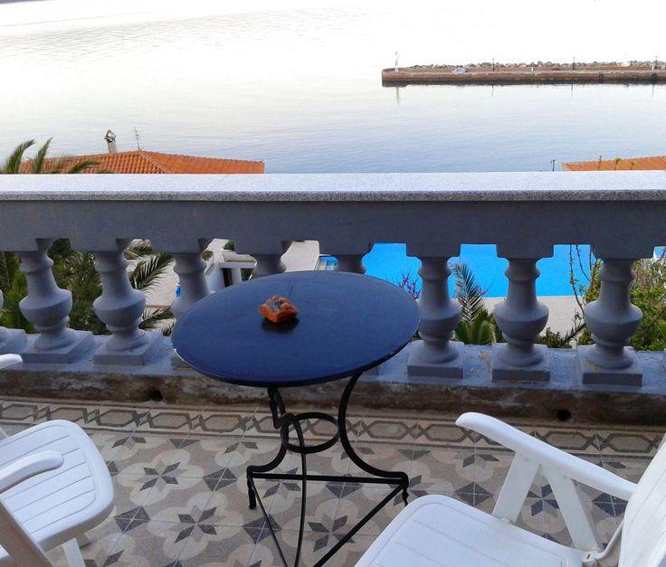 Perfection of simplicity, today!! at #Villa #Molova, #Molyvos, #Μήθυμνα, #Lesvos, #Greece