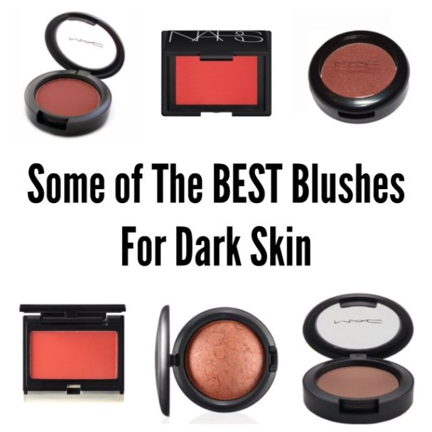 Behold! A professional list of the best blushes by brands like MAC and NARS for every woman of color who wants a beautiful glow on the apples of her cheeks.