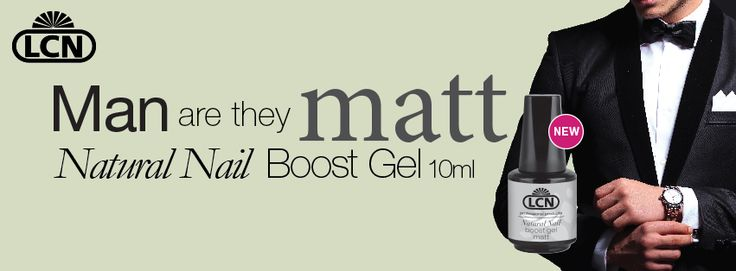 Natural Nail Boost Gel is now available in a Matte finish for the men in your life!