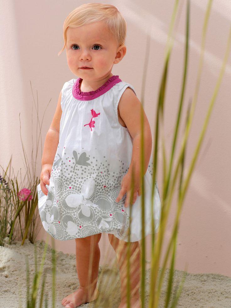 #Robe boule motifs #papillons Atelier LZC bébé #fille - Collection Printemps été 2014 www.vertbaudet.fr