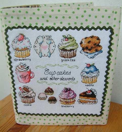 The cover for kitchen recipes http://sztukaoswojona.blogspot.com/2013/04/muffinkowy-segregator-i-niespodzianka.html